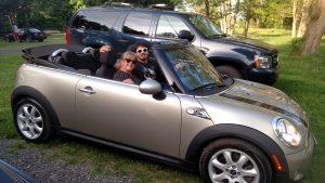 Cals new car