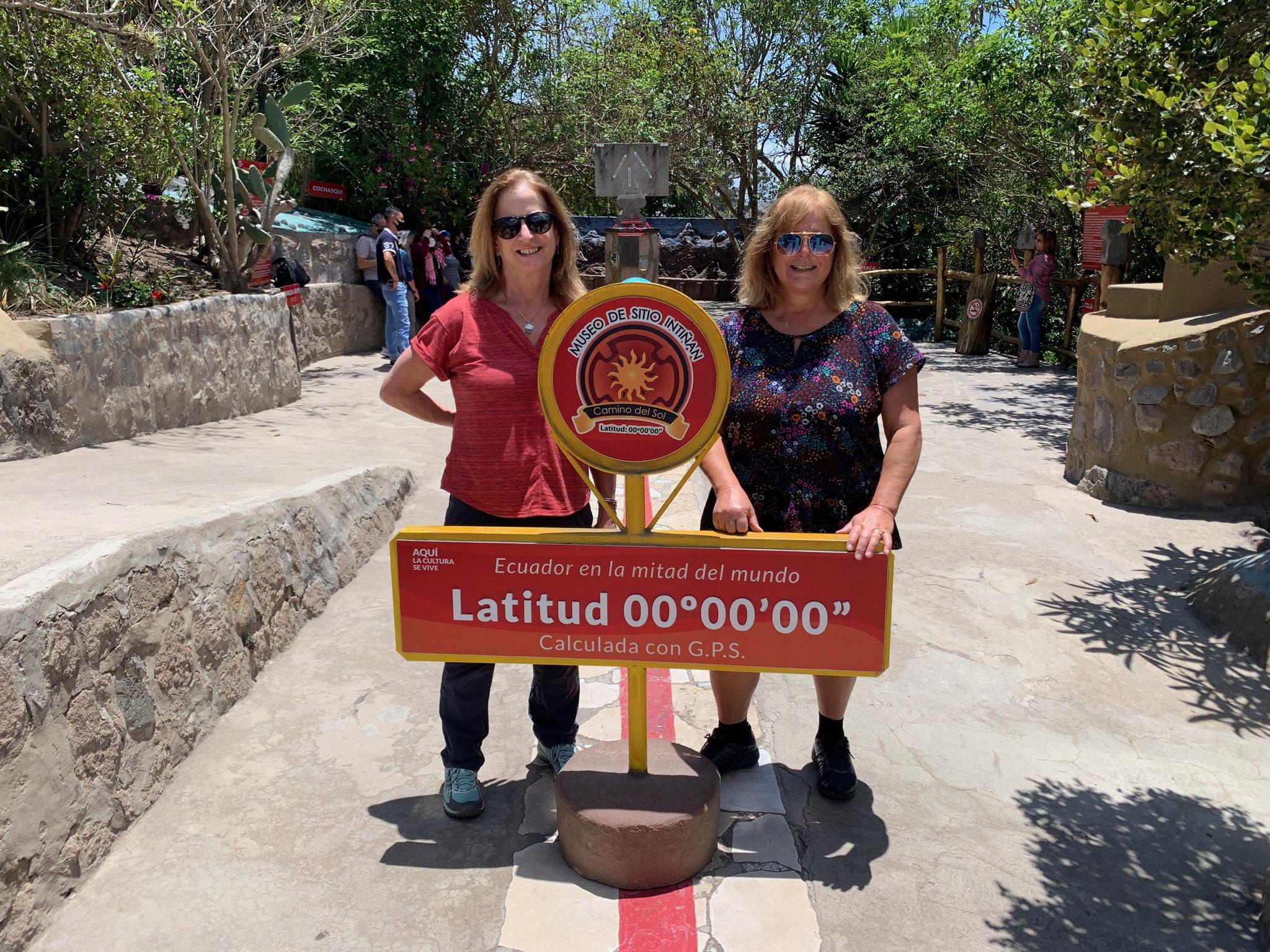 Sue and Judie in Quito